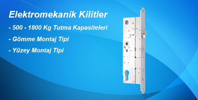 Elektromekanik Kilitler